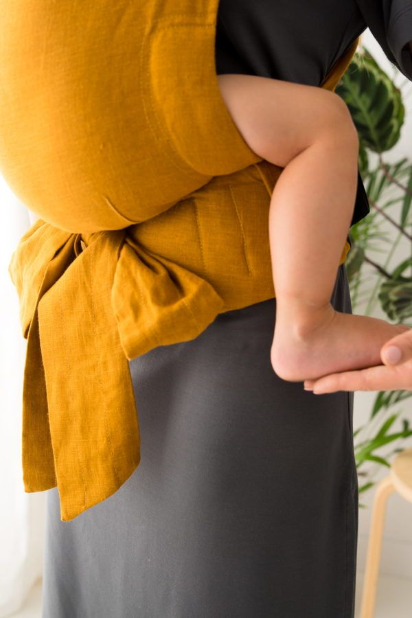Nosidełko KAVKA Handy amber linen
